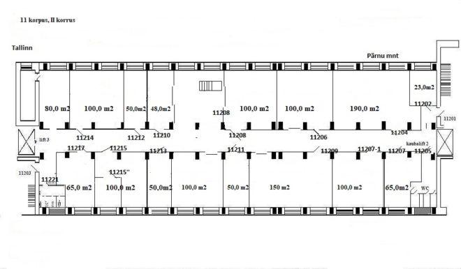 Koduleht, 11 korpus, II korrus