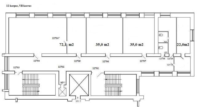 Koduleht, 12 korpus, VII korrus